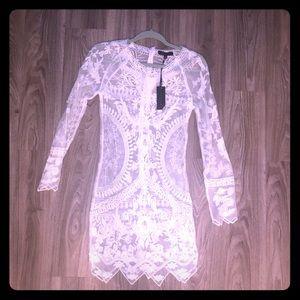 Mini Lace Long sleeve Dress